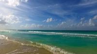 Вид на океан с кубинского пляжа