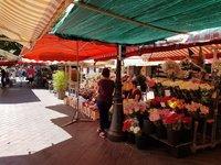 Сентябрь на рынке Кур Салея, Ницца 2018