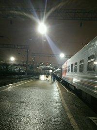 Вокзал Краснодара в декабре
