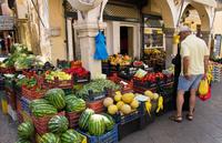 Керкира: местный рынок