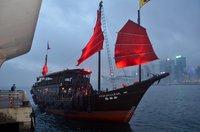 Морская экскурсия на корабле Аквалуна, Гонконг