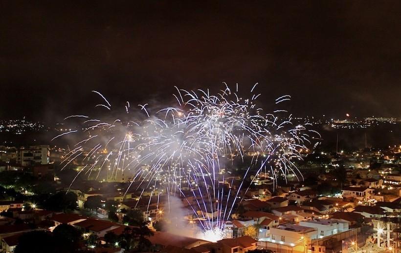 Валенсия в Новогоднюю ночь