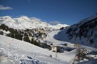 На горнолыжном курорте Obertauern в марте