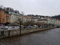 Стара Лука на реке Тепла, апрель в Карловых Варах