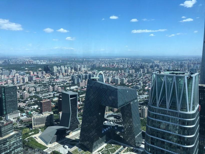 Пекин у моих ног, «Вертикальный забег» 2018