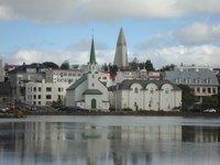 Церковь Frikirkjan i Reykjavik, июнь 2018