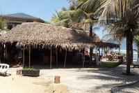 Отель располагается практически на пляже