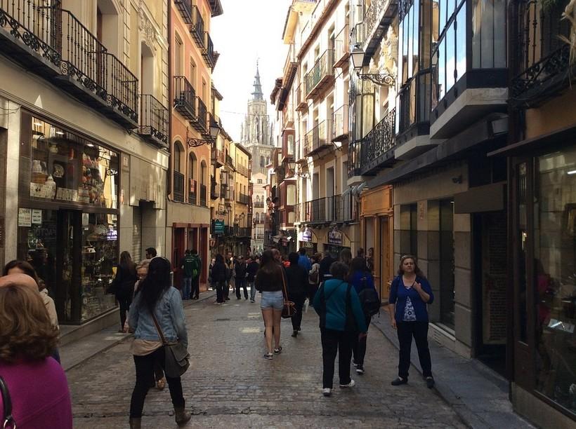 Толедо, Испания — июнь 2018