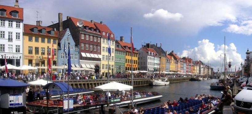 Копенгаген: наплыв туристов на майские праздники
