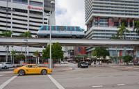 Движение на улицах Майами