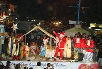 Католическое Рождество на Гоа с индийским колоритом.