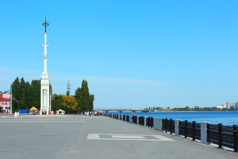 Набережная в Воронеже