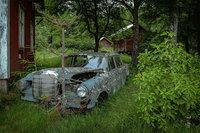 16 зрелищных фотографий с кладбищ старых автомобилей, разбросанных по всей Европе