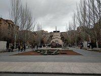 Прогулка по Еревану, Большой Каскад, февраль 2019
