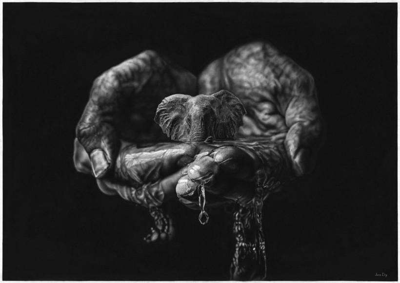 20 нереальных картин южноафриканского художника, которые не отличить от фото