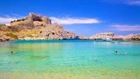 Пляжи Линдоса на Родосе