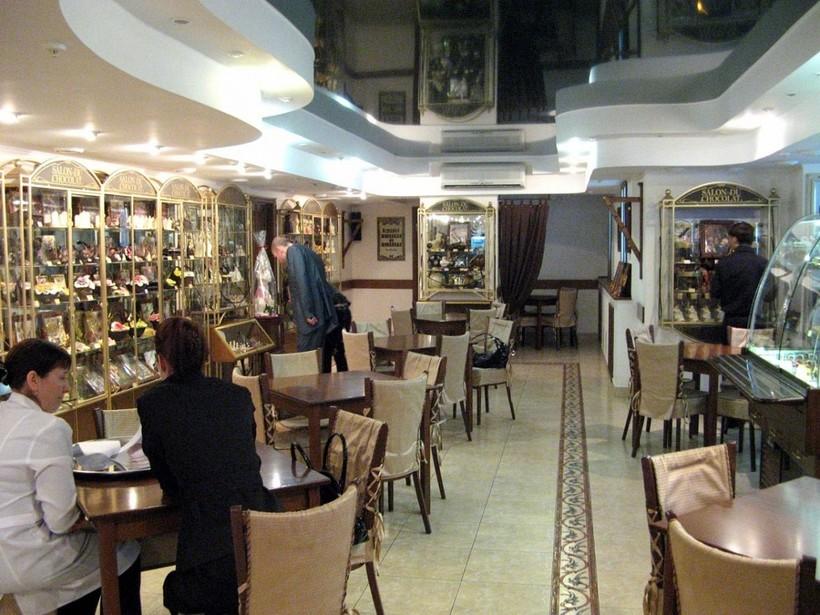 Симферополь: я в музее шоколада