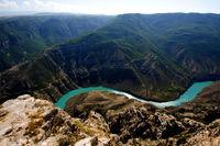 Реки у горы Казбек