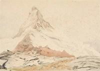 Первое изображение вершины на холсте