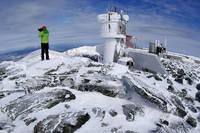 обсерватория на вершине горы Вашингтон
