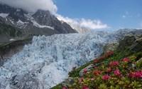 Ледник в Альпах