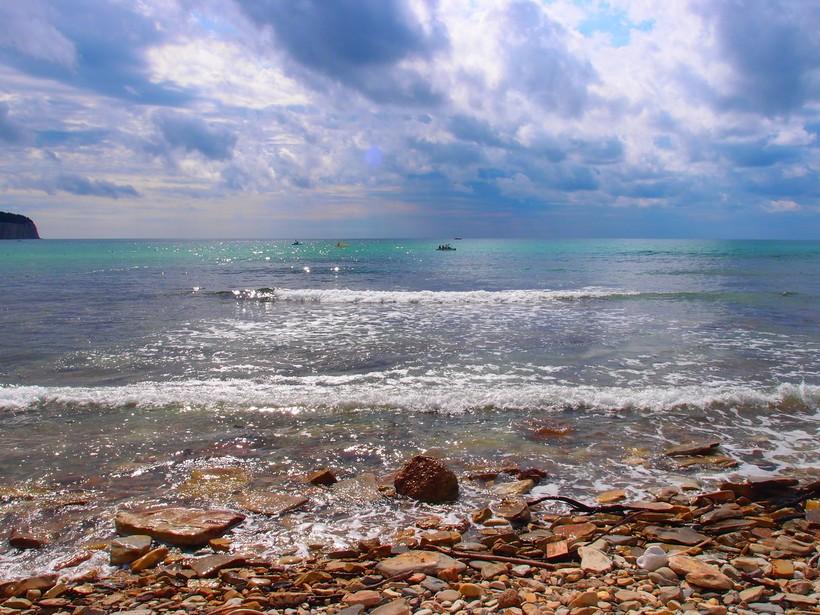Красивое море в Туапсе