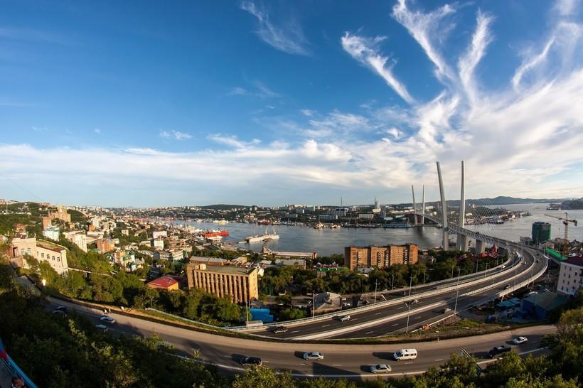 Солнечный день во Владивостоке