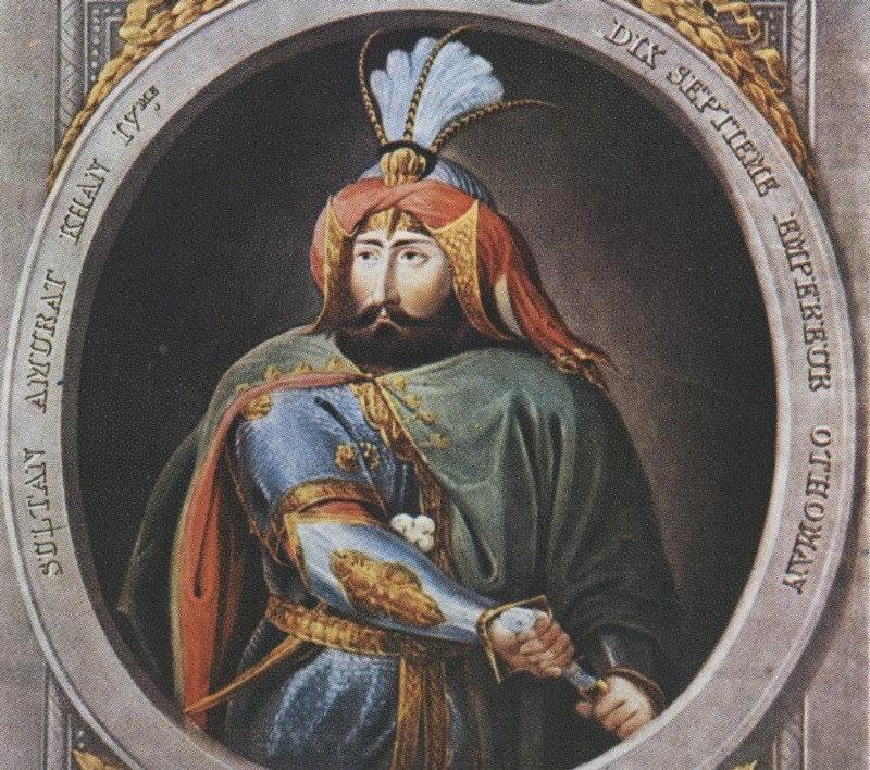 Султан Османской империи Мурад IV