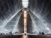 Великолепные интерьеры современных храмов со всего мира