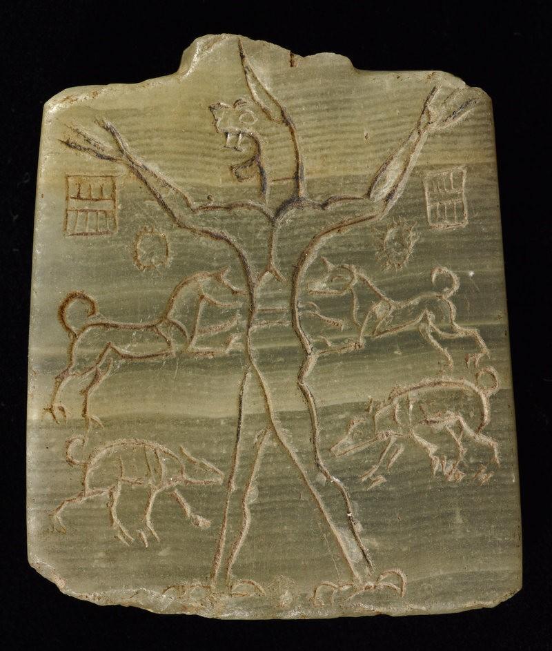 Древний амулет, изображающий Ламашту во всей ее грозной силе