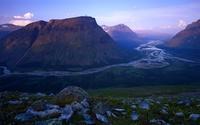 Долины гор