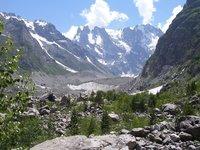 Разнообразные ландшафты Кавказа