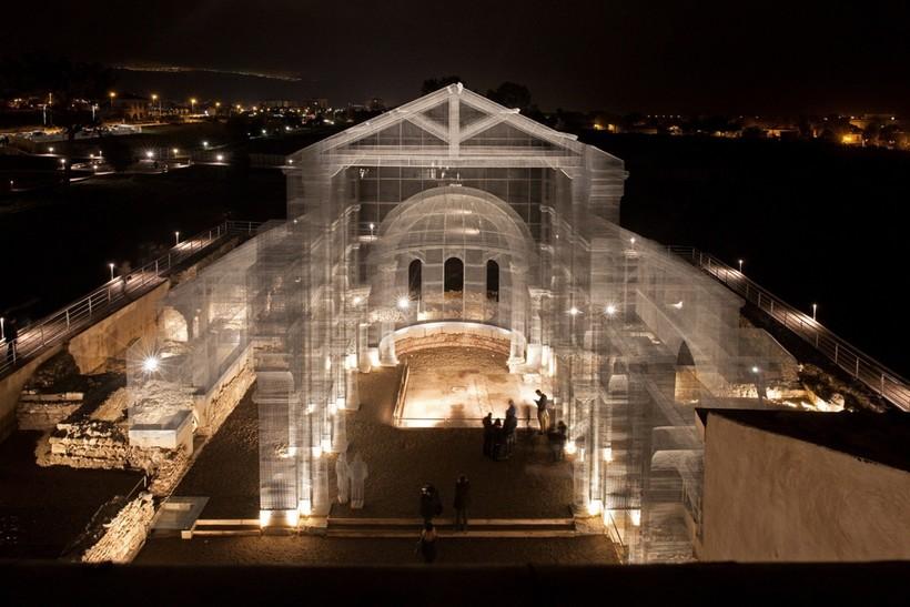 Археологический парк Сипонто в Италии и его невероятная призрачная церковь