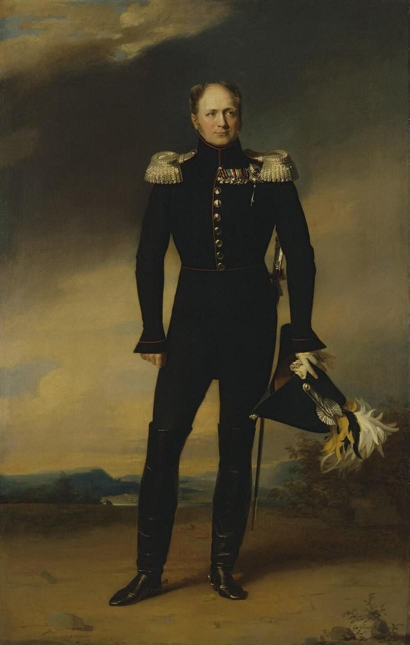 Портрет императора Александра Первого кисти Джорджа Доу