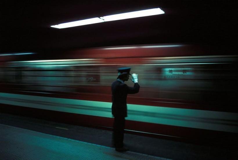 Станция метров Икэбукуро, 1976