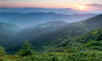 Туманы в Западных Карпатах