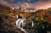Красота гор Чили