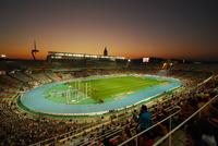 Олимпийский стадион на горе Монжуик