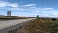 Положительные стороны автостопа по Патагонии - дорога в Пуэрто-Наталес