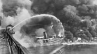 Как всего 50 лет назад в США горели реки, загрязненные нефтепродуктами