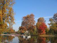 Осенью парк выглядит не хуже, чем весной или летом