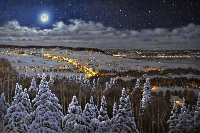 22 поразительных пейзажа канадского художника, которые выглядят точно как фотографии
