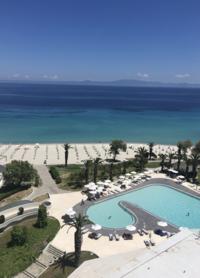 Вид из номера Pallini beach