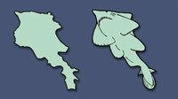 Парень перерисовал карту Европы, показав, что собой представляет каждая из стран