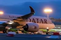 Airbus A350-900 авиакомпании Qatar Airways совершил свой первый рейс из Дохи в Москву