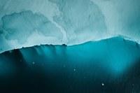 Потрясающие аэроснимки, сделанные с самолета в небе над Исландией и Гренландией