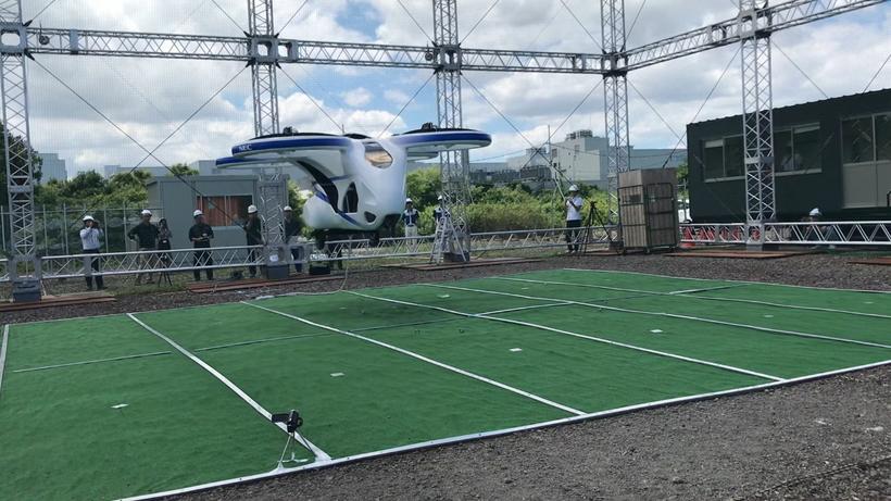 Технологии, которых мы все ждем: беспилотный пассажирский дрон протестировали в Японии