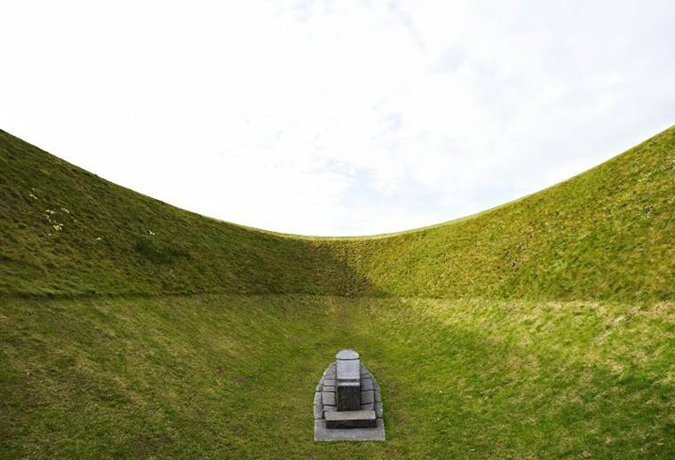 Странный кратер посреди ирландского ландшафта: обсерватория для наблюдения за небом