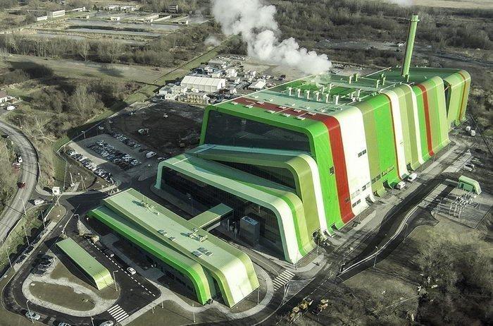 Странно и красиво: как выглядят мусоросжигательные заводы в разных странах мира
