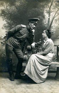 Брак по правилам: как женились русские офицеры